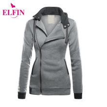 Spring Autumn Fashion Women Hoodies Sweatshirts Zipper Design Hoody Women Hooded Jacket Plus Size LJ7745R