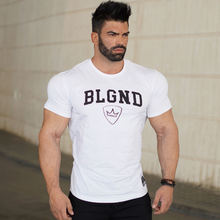 Buy Mens summer fitness Bodybuilding cotton t-shirt gyms workout Crossfit Short sleeve o-neck shirts male tees tops brand clothing for $8.79 in AliExpress store