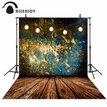 Allenjoy vinyl photography theme background Mottled walls dirft grey vintage classic naturism children photos camera fotografica