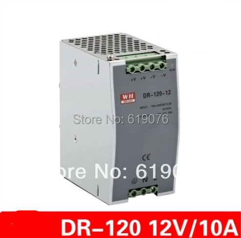 new component 120W 12V single set of guide rail type LED switching power supply<br>