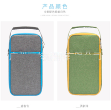 new can cooler thermal bag bottle lunch box bag fashion design(China)