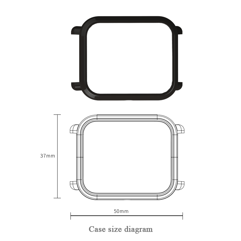 Mijobs-TPU-Case-Shell-Slim-Plastic-PC-Protective-Cover-for-Xiaomi-Huami-Amazfit-Bip-BIT-PACE(1)