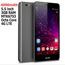 SANTIN Promotion Firefly Mobile AURII Passion Android 6.0 4000mAh 3GB RAM 13MP MTK6753 Octa Core 16GB ROM 4G LTE Android Phone