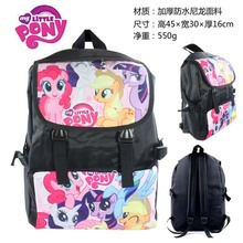 Anime My Little Pony Twilight Sparkle/Apple Jack/Rarity/Pinkie Pie Waterproof Laptop Backpack/Double-Shoulder Bag/School Bag
