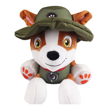 New 20cm Puppy Patrol Dog Tracker and Apollo Plush Toys Dolls Anime Dolls Patrol Patrulla Canina Gift for Child