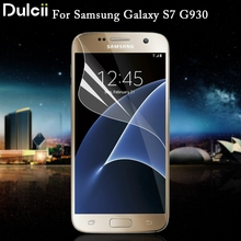 Dulcii For Samsung Galaxy S7 G930 Soft Screen Protective Film Full Coverage for Galaxy S 7 Soft Screen Protective Film Coverage(China)