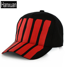 Hanxuan Popular Man Black and White Striped and Wave Baseball Caps Leisure Cap Cotton Korean Female trendsetter Sun Hats Male(China)