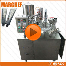 CE ISO  Automatic Plastic Tube filling sealing machine