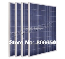 RU Stock *400w -4PCS 100W 12v solar panels for solar home system, for battery charger, camping,(China)