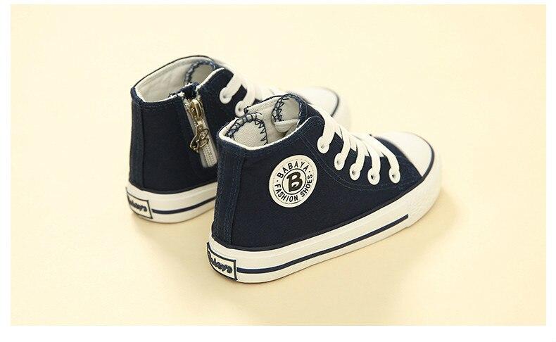 Enfants chaussures pour fille enfants toile chaussures garçons 27