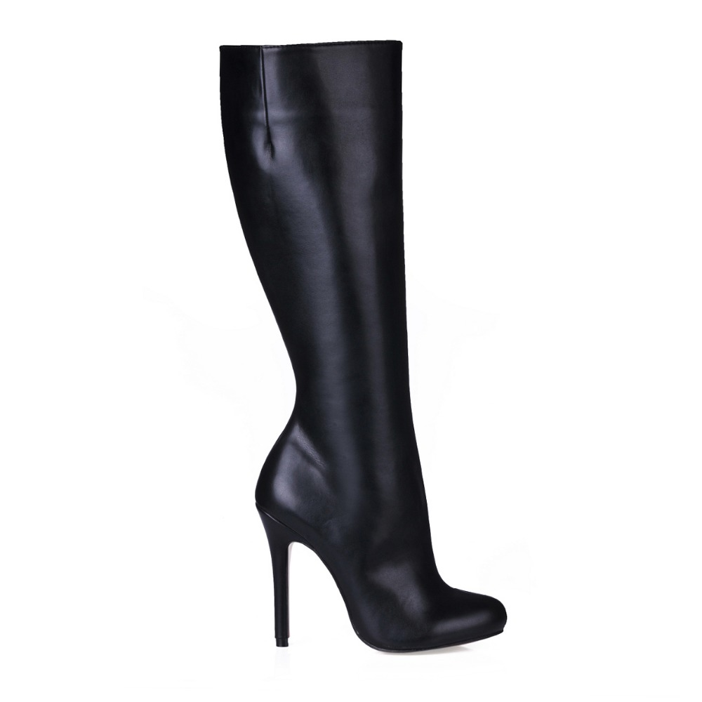free shipping brand fashion women autumn winter boots lady shoes woman high heels knee high boots women sexy warm fashion boots<br><br>Aliexpress