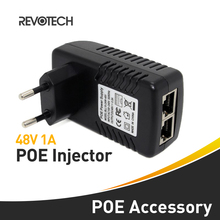Active POE Injector Power Adapter PSE Output DC48V 0.5A Power over Ethernet 4&5(+),7&8(-),EU plug