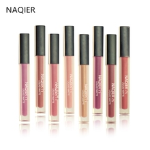NAQIER Fashion Liquid Lipstick Cosmetic Women Sexy Lips Stain Red Brown Nude Matte Lip Gloss Tattoo Lips Kit Party Makeup