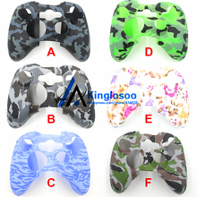 Fashion Soft Silicone Gel Rubber Case Protection Skin Cover for Xbox 360 Game Controller