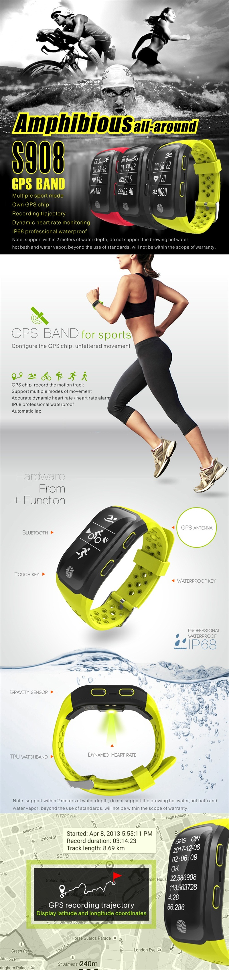 GPS Activity Tracker 1