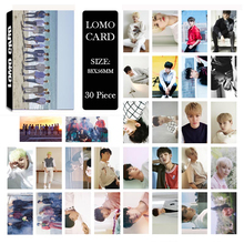 Youpop KPOP Seventeen Don't Wanna Cry Album LOMO Cards K-POP New Fashion Self Made Paper Photo Card HD Photocard LK503