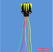 Whole Sale Hotsell 5.5 m Octopus Single Line Stunt Software Power Kite With Handle and Line Good Flying Factory Outlet(China)