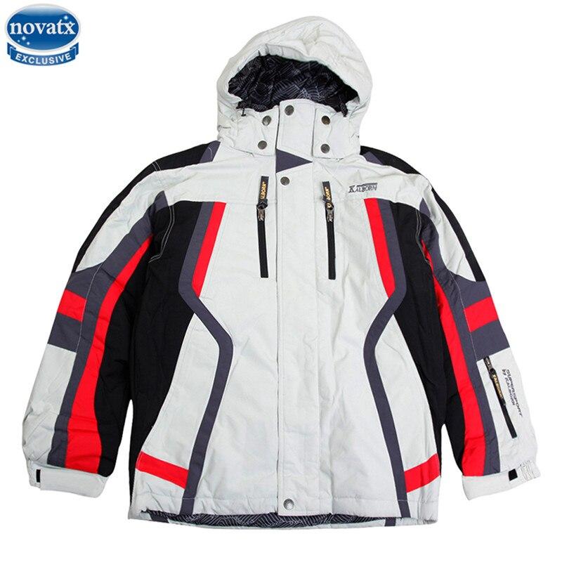 novatx K1019 kids warm clothes winter clothes jacket coat baby boys girls hooded warm jacket coat windproof patchwork coat hot<br>