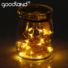 Goodland 3M LED String Lights Waterproof Christmas Light String LED Fairy Lights Copper Wire Wedding Party Holiday Decoration