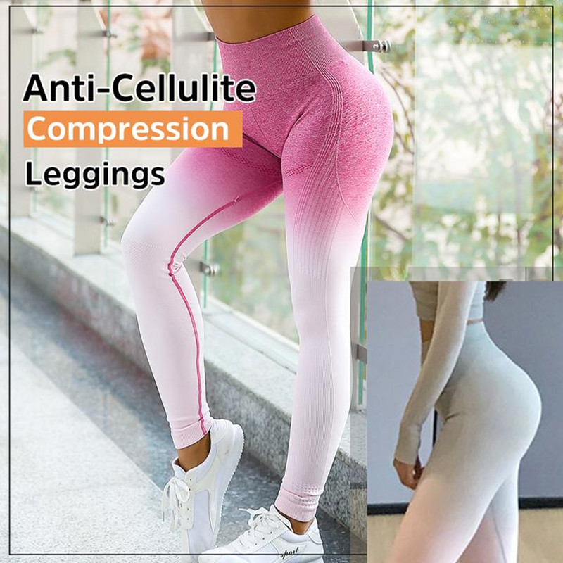 Womens Workout Leggings Compression Yoga Pants with High Waist Streamlined Design for Fitness Sports Gym Running Pants