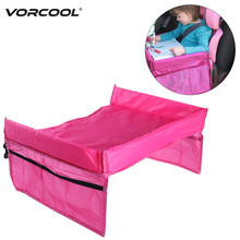 VORCOOL Portable Toddler Kids Baby Safety Waterproof Snack Car Seat Table Organizer Stroller Tray Play Travel Lap Drawing Board