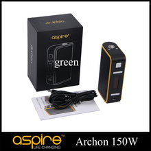 Original Aspire Archon 150W TC Mod Customize Firmware Upgradeable Child Lock Function Best Match Cleito 120 Tank