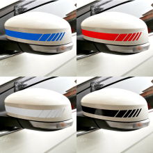 Buy Reflective Car Stickers Decals Auto Rearview Mirror Decoration Exterior Accessories DIY 4 Colors Car-styling for $1.04 in AliExpress store