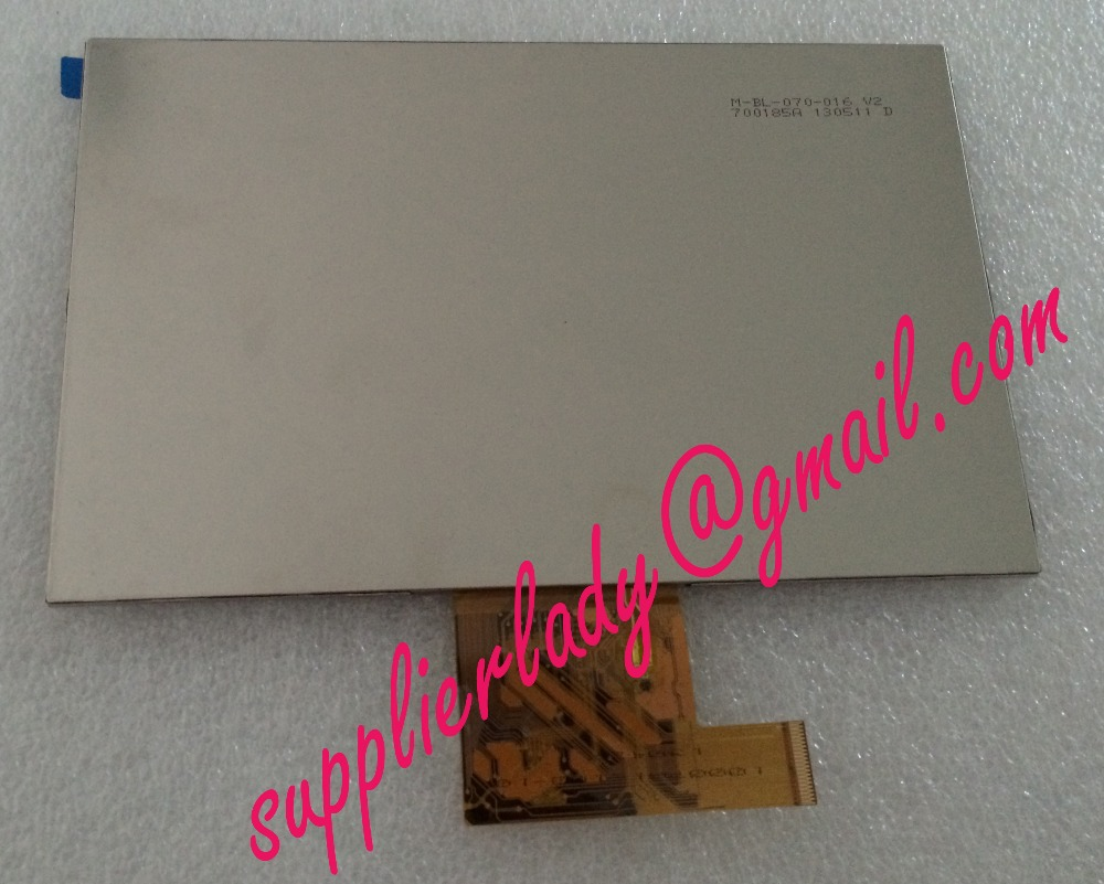 Original and New 7inch LCD screen M-BL-070-016 V2 for tablet pc free shipping<br>