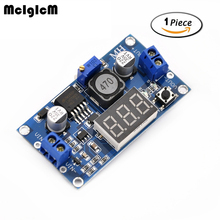 MCIGICM 1pcs DC 4.0~40 to 1.3-37V LED Voltmeter Buck Step-down Power Converter Module LM2596 Hot sale(China)