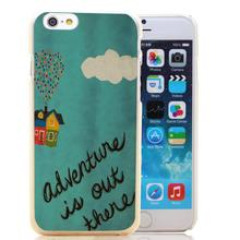 1356-HOQE Popular UP  Movie Adventure Is Out There Transparent Hard Case Cover for iPhone 6 6s plus 5 5s 5c 4 4s Phone Cases