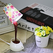 New Arrival Fashion DIY Creative LED Paper Cup Lamp Desk Light USB Multicolor Shape Energy Saving Art Deco Style Night Light