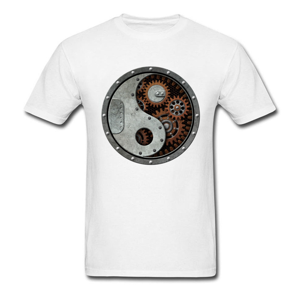 Industrial Steampunk Yin Yang_white