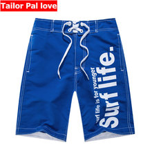 Men Swimwear Boardshorts Surf Swim Shorts Polyester Quick Dry Loose Summer Beach Swimming Swimsuit Board Short Pants Beachshorts