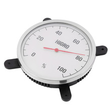 New High Temperature measuring stainless steel Indoor Outdoor Thermometer Hygrometer sauna bath laboratory Weather Station use