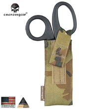 Emersongear Tactical Molle Scissors Pouch Shear Holder Airsoft Military Equipment Combat Gear EM6367 Multicam AOR Black