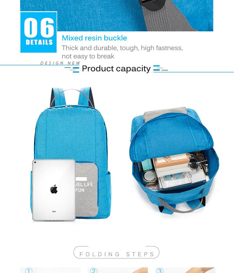 Folding bags 6