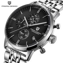 Buy Relogio Masculino PAGANI Mens Watches Top Brand Luxury Sport Quartz Watch Men Business Stainless Steel Waterproof Wristwatch for $57.80 in AliExpress store