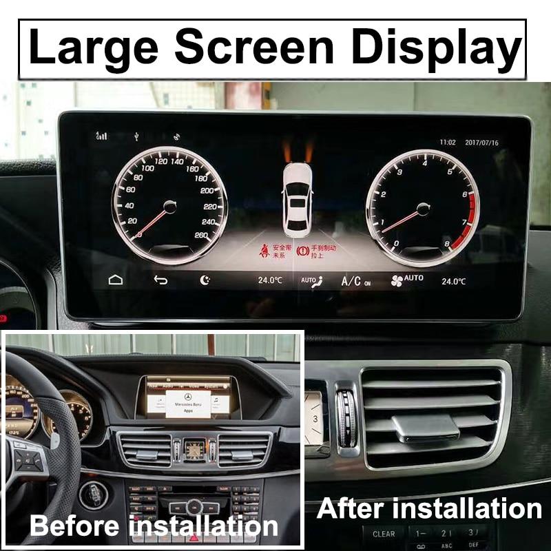 Liislee Car Multimedia Player NAVI For Mercedes Benz MB E Class W212 S212 C207 A207 2009~2017 Car Radio Stereo GPS Navigation (4)