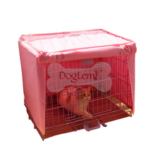 Waterproof Polyester Pet Cage Cover Dog Kennel Cage Cover Durable Small Dogs Cat Cage CoverBreathable Puppy Cats House Blanket