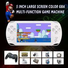 S9000A Portable 5.0 inch HD Handheld Game Player MP5 MP4 Multimedia Gaming Console For PSP 8G Video Games Consoles e-books Toy