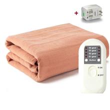 Electric Blanket Heating Thicker Warm Mat Double/Single Body Warmer Couverture Electrique Carpets Handy Heated Thermostat Blanke(China)