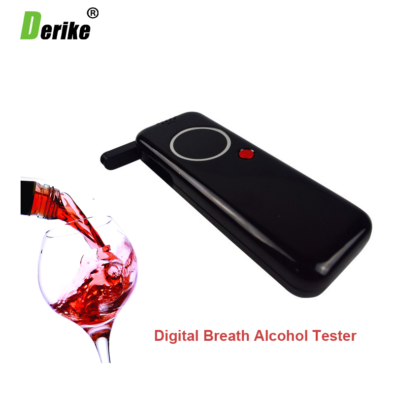 Hot Selling Professional Police Alcohol Tester Digital Breathalyzer Alcohol Breath Analyze Tester 8042(China)