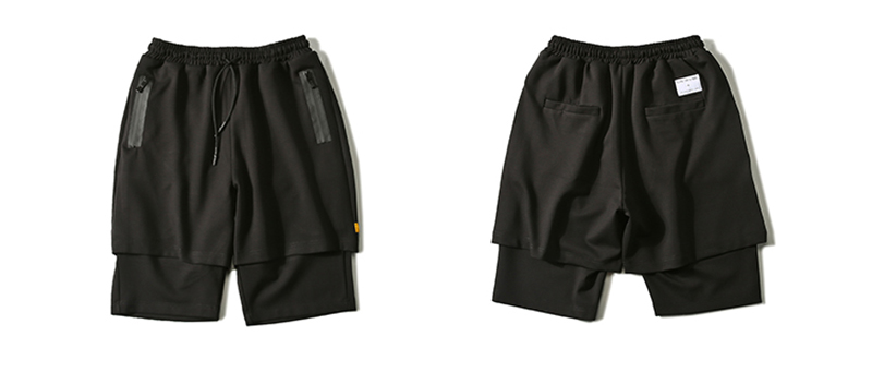 Body Engineers Baggy Mens Long Cargo Shorts Hip Hop (18)