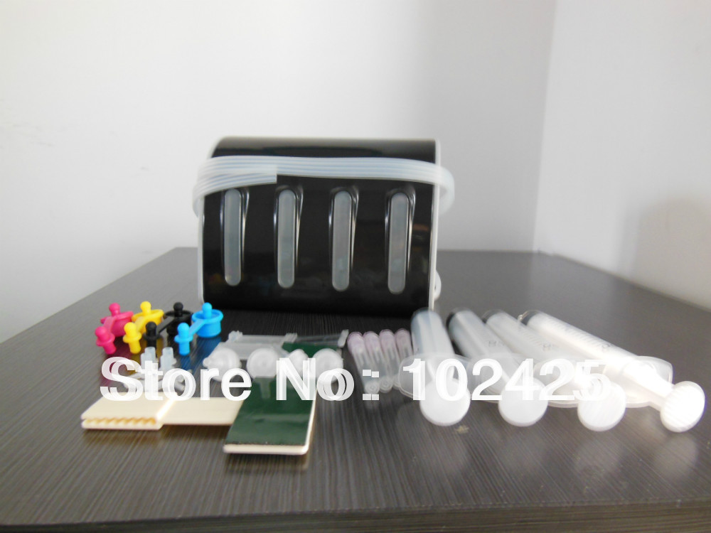 4 Color Diy CISS kits with all accessaries with ink tank for Epson/HP/Canon/Brother printers CISS DIY kits  Free shipping<br><br>Aliexpress