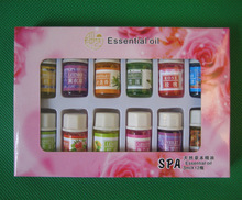 Brand New Essential Oils Pack for Aromatherapy Spa Bath Massage Skin Care Lavender Oil With 12 Kinds of Fragrance