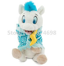 Babies Hercules Pegasus Plush Baby Doll with Blanket Toy 10'' 25cm Cute White Horse Stuffed Animals Kids Toys Children Gifts