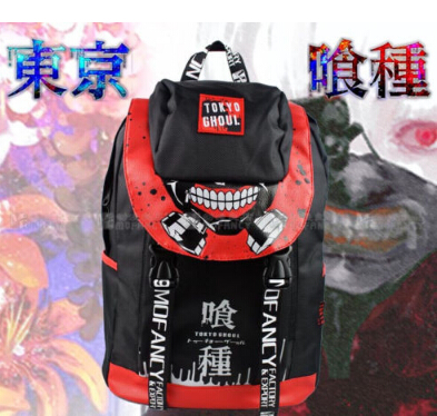 Anime Tokyo Ghoul Ken Kaneki Travelling Backpack School Student Shoulder Bag Gift Back to School<br><br>Aliexpress