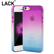 Transparent Skin Protective Phone Cases for iphone 4S Case Gradient TPU Clear Back Cover For Apple iphone 4 5 5S SE 6 6S Coque
