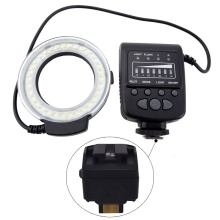 Mcoplus FC100 Macro Ring Flash LED Light + SH20 for Sony NEX-3 NEX-3D NEX-C3 NEX-5 NEX-5C NEX-5N NEX-5R 5RL 5RY NEX-5T 5TL 5TY