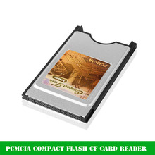High Quality New 68 Pin PCMCIA Compact Flash CF Card Reader Adapter For Laptop(China)